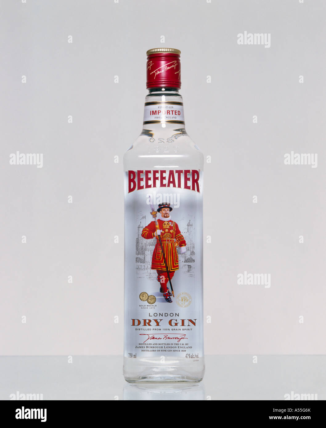 Beefeater London Dry Gin Flasche Stockfoto Bild 11204106 Alamy