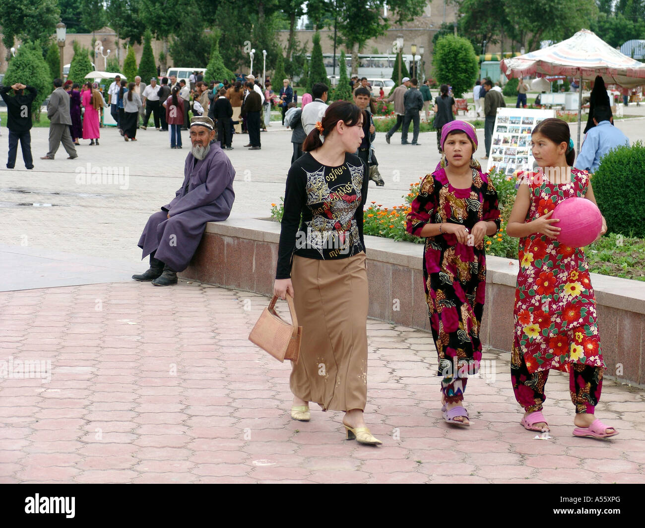 Mädchen Usbekistan