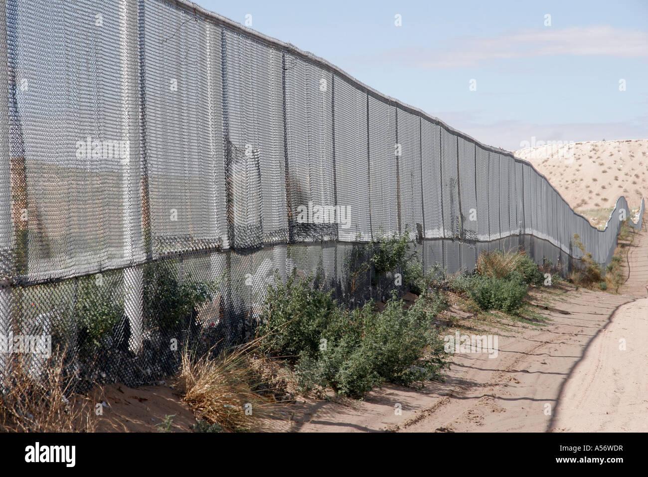 Painet Ja0971 Usa Zaun Die Grenze Zwischen Ciudad Juarez El Paso