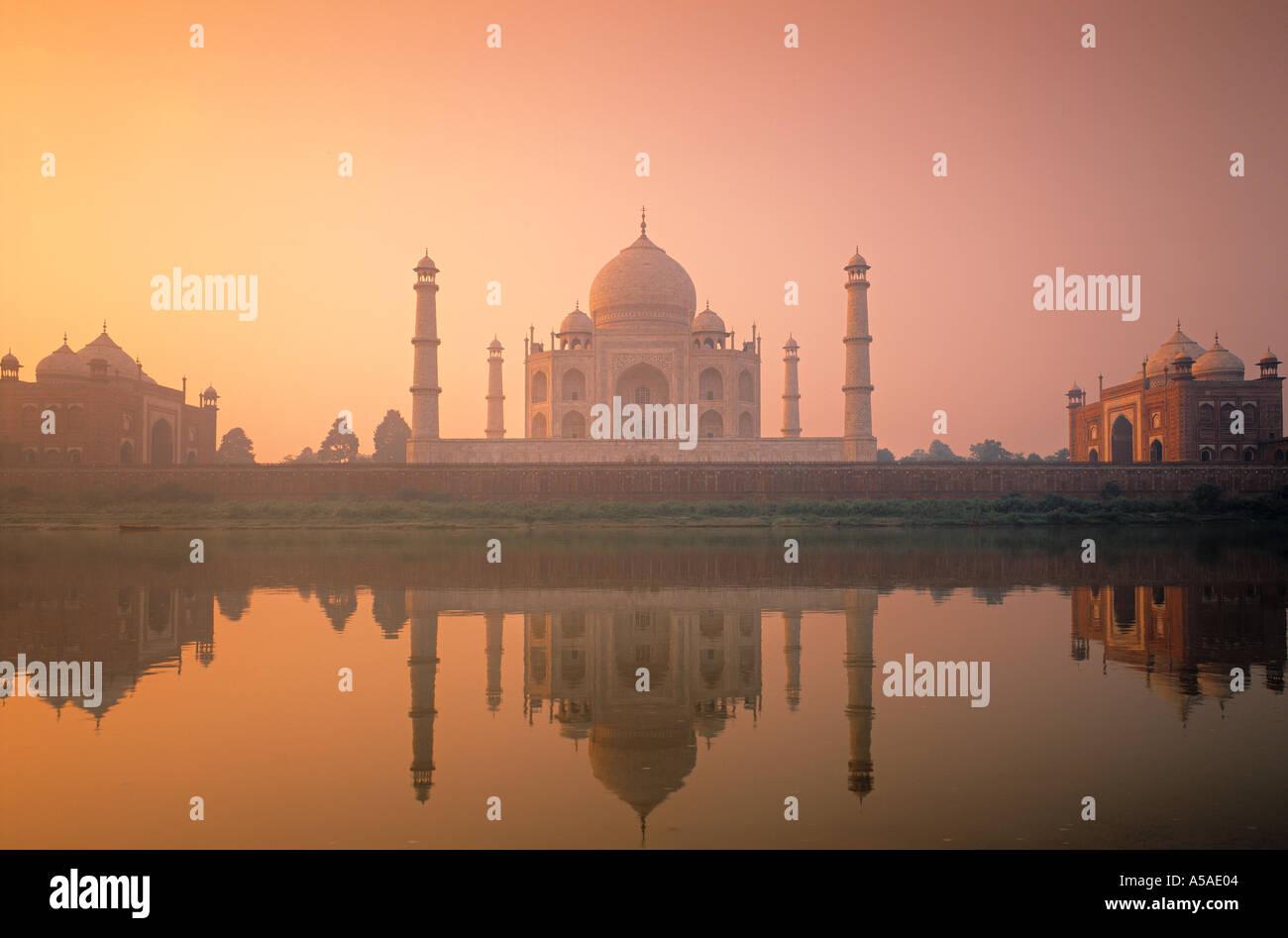 Taj Mahal, Agra, Indien Stockbild