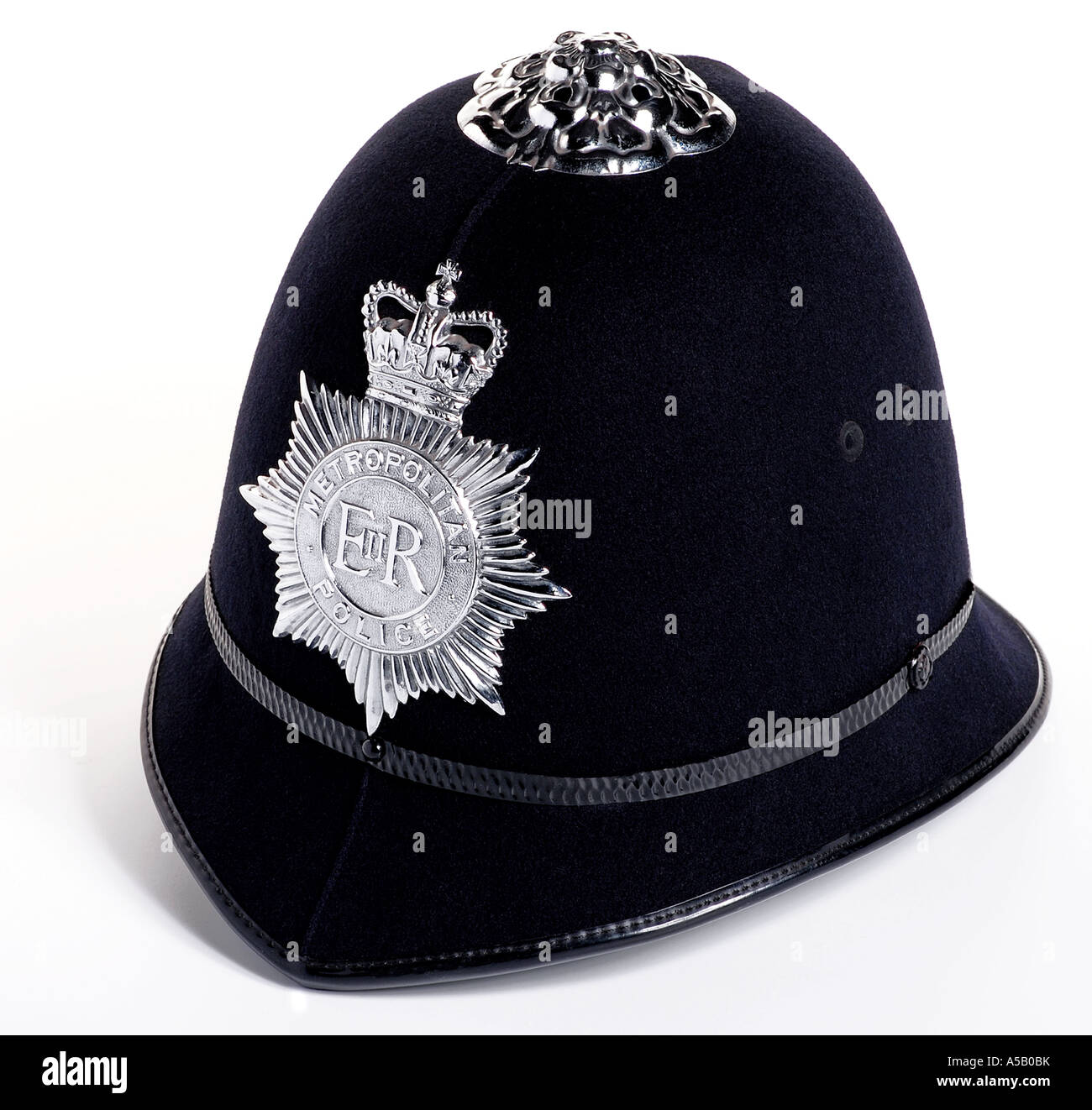 Policemans Helm. Bild von Patrick Steel patricksteel Stockbild