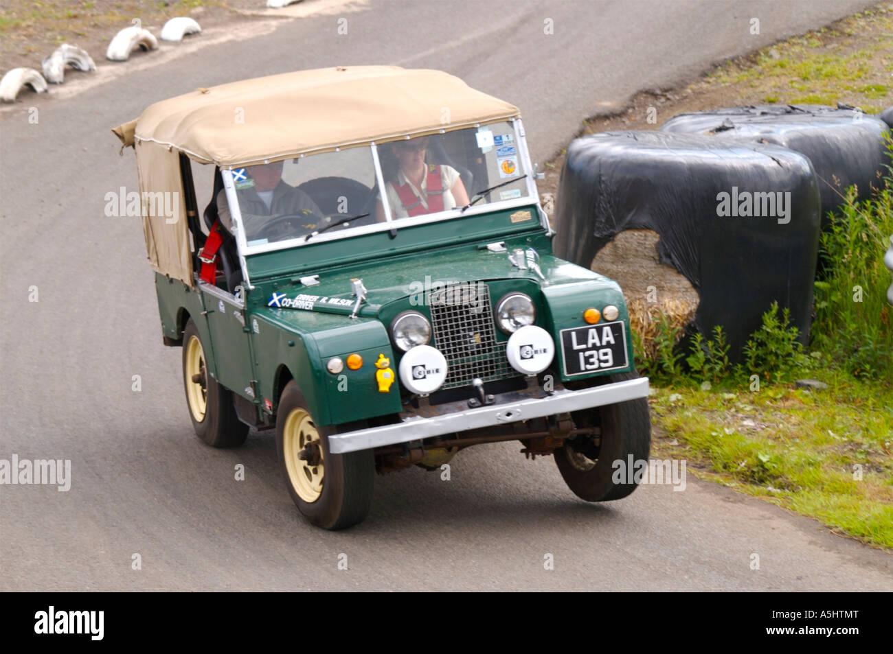 Knockhill Rallyesport Stockbild
