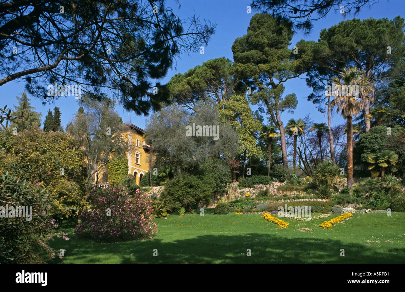 Botanischer Garten Von André Heller In Gardone Riviera Am Gardasee