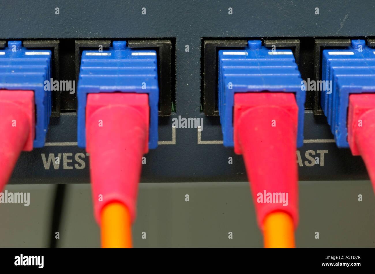Kabel, Leitungen, Connestion, Stecker, Stecker, Server, Computer, Computer-Stecker, Server-Stecker, Computer-Stecker, Stockbild