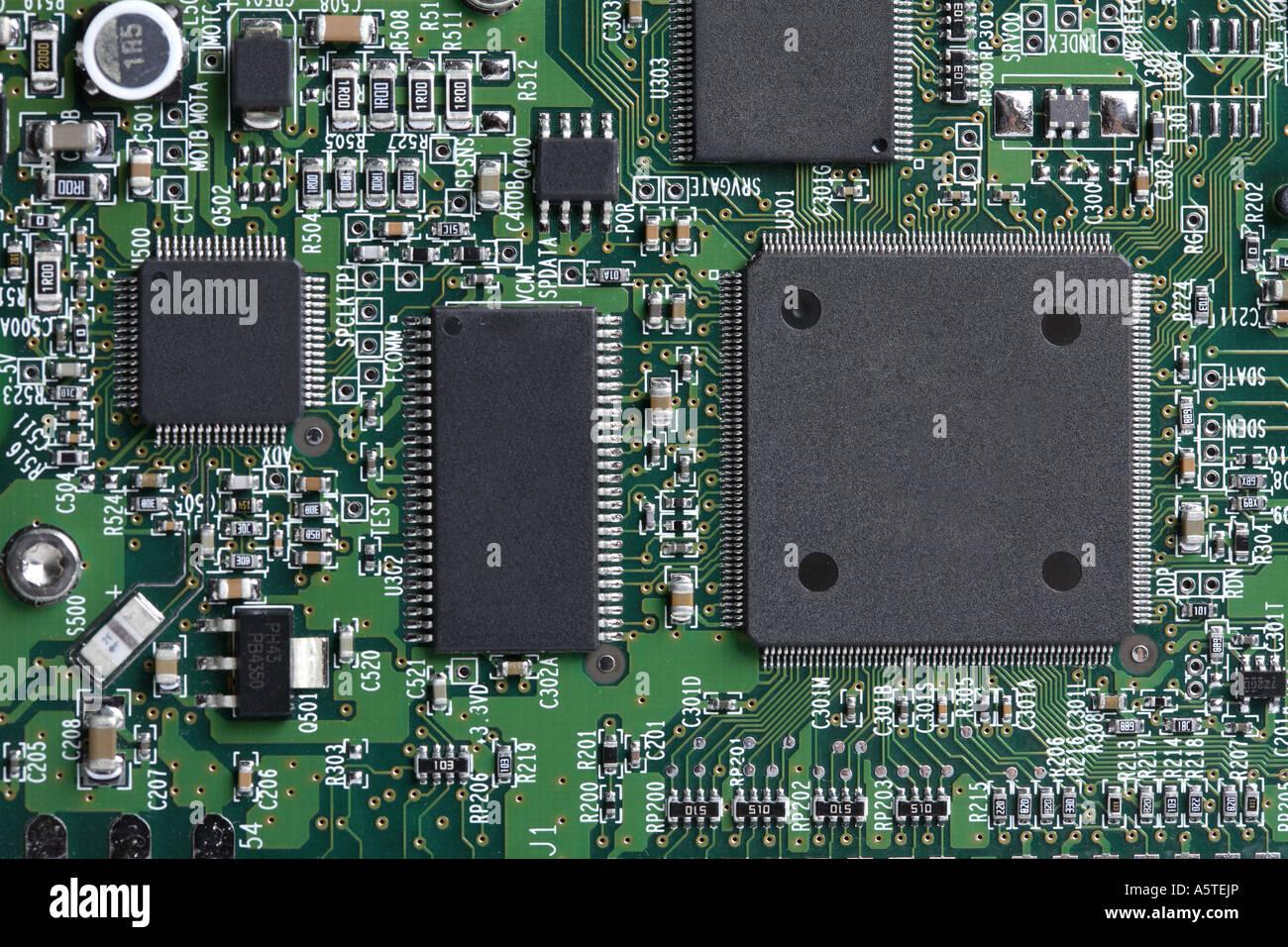 Computer-Platine Stockbild