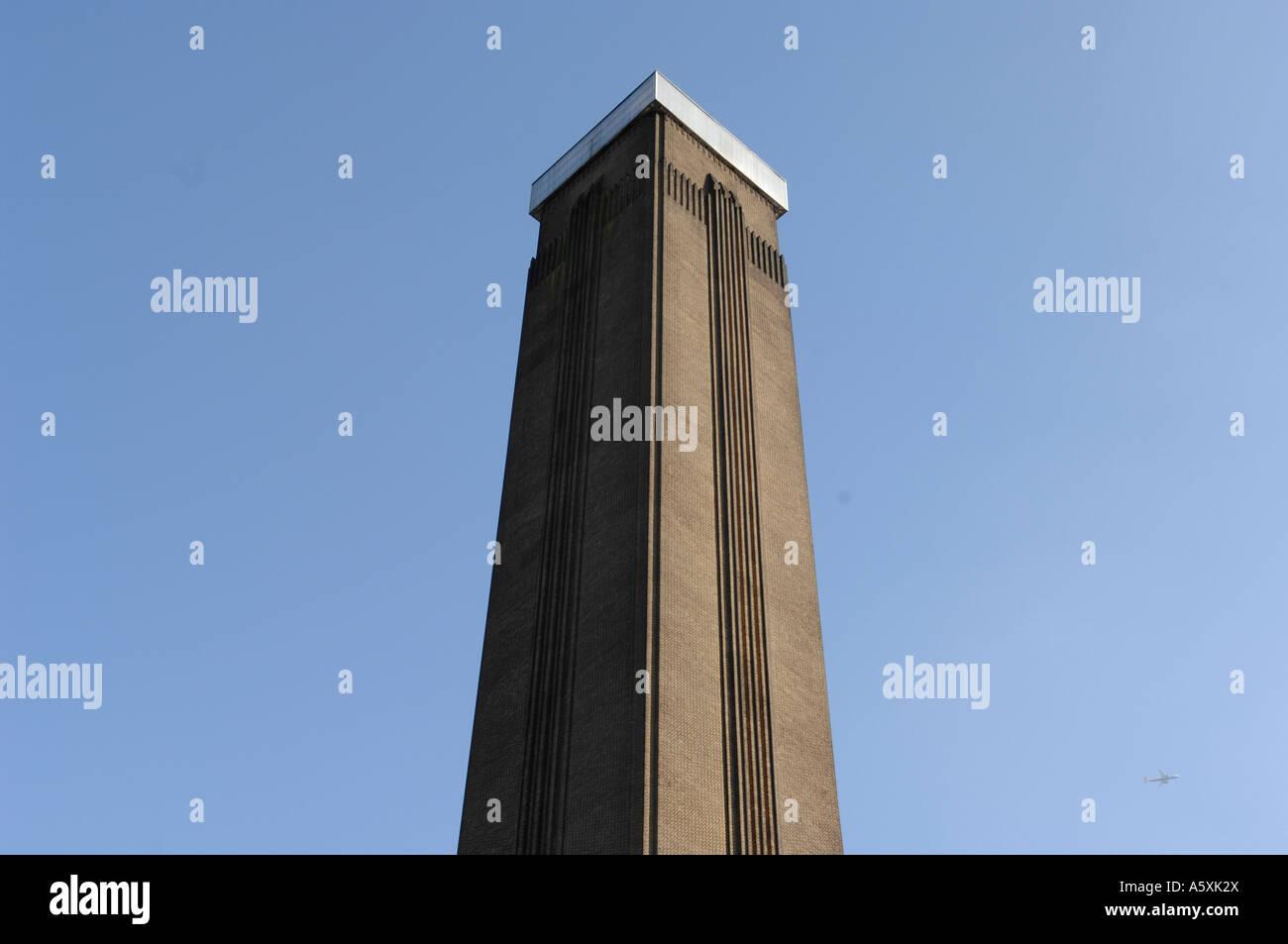 Tate Modern Turm Stockbild