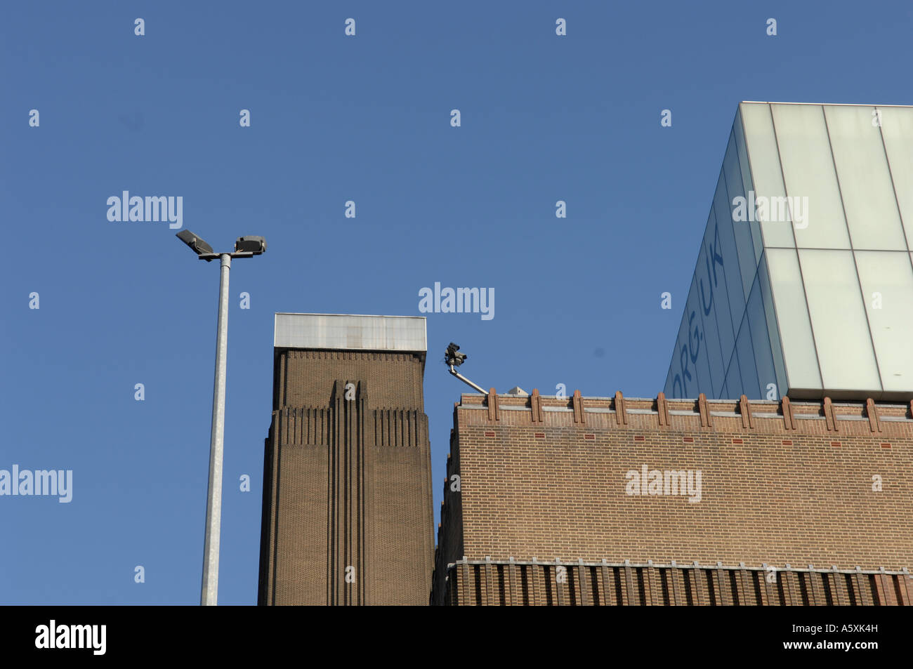 Tate Modern London Stockbild