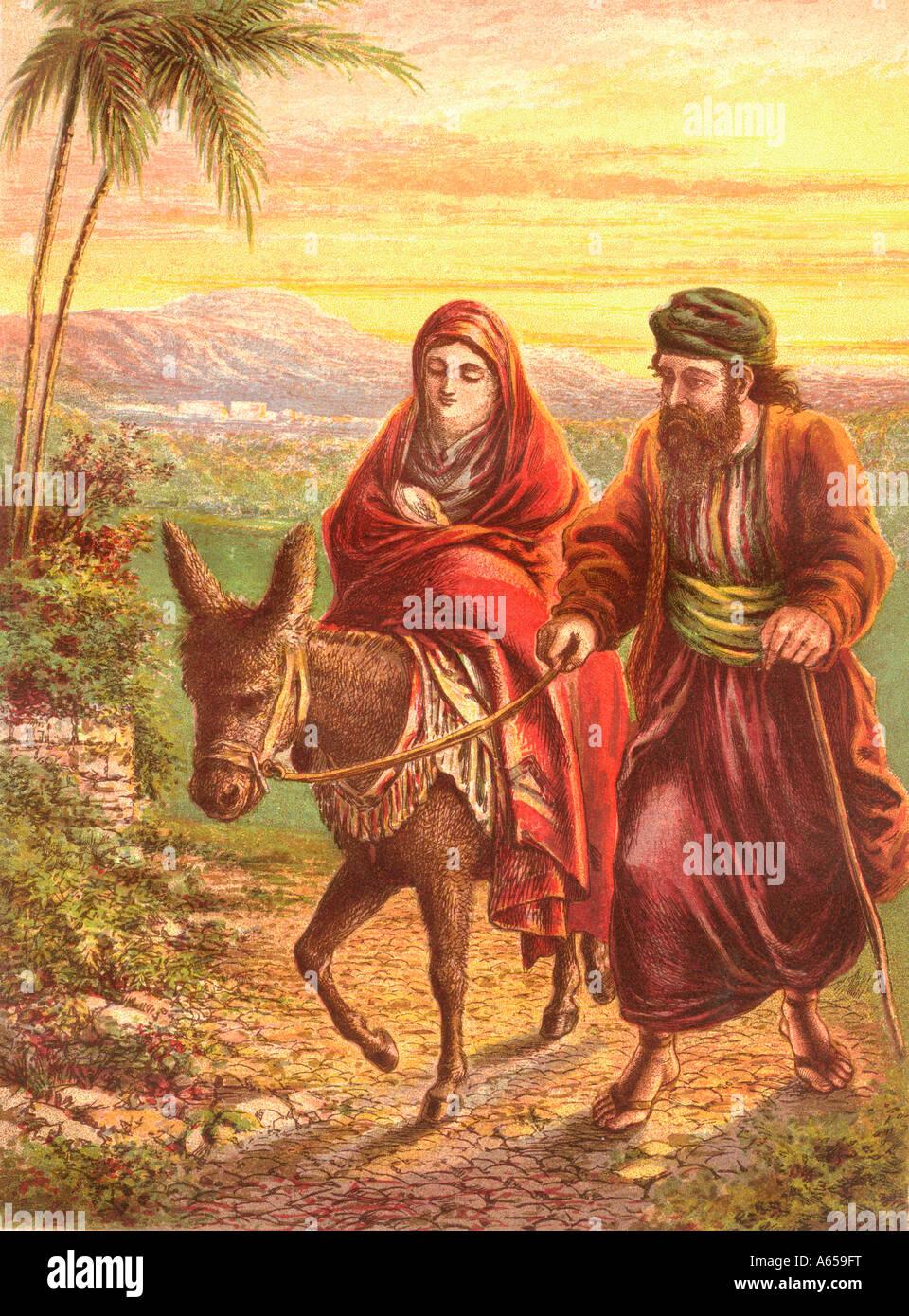 Flucht In Der Bibel