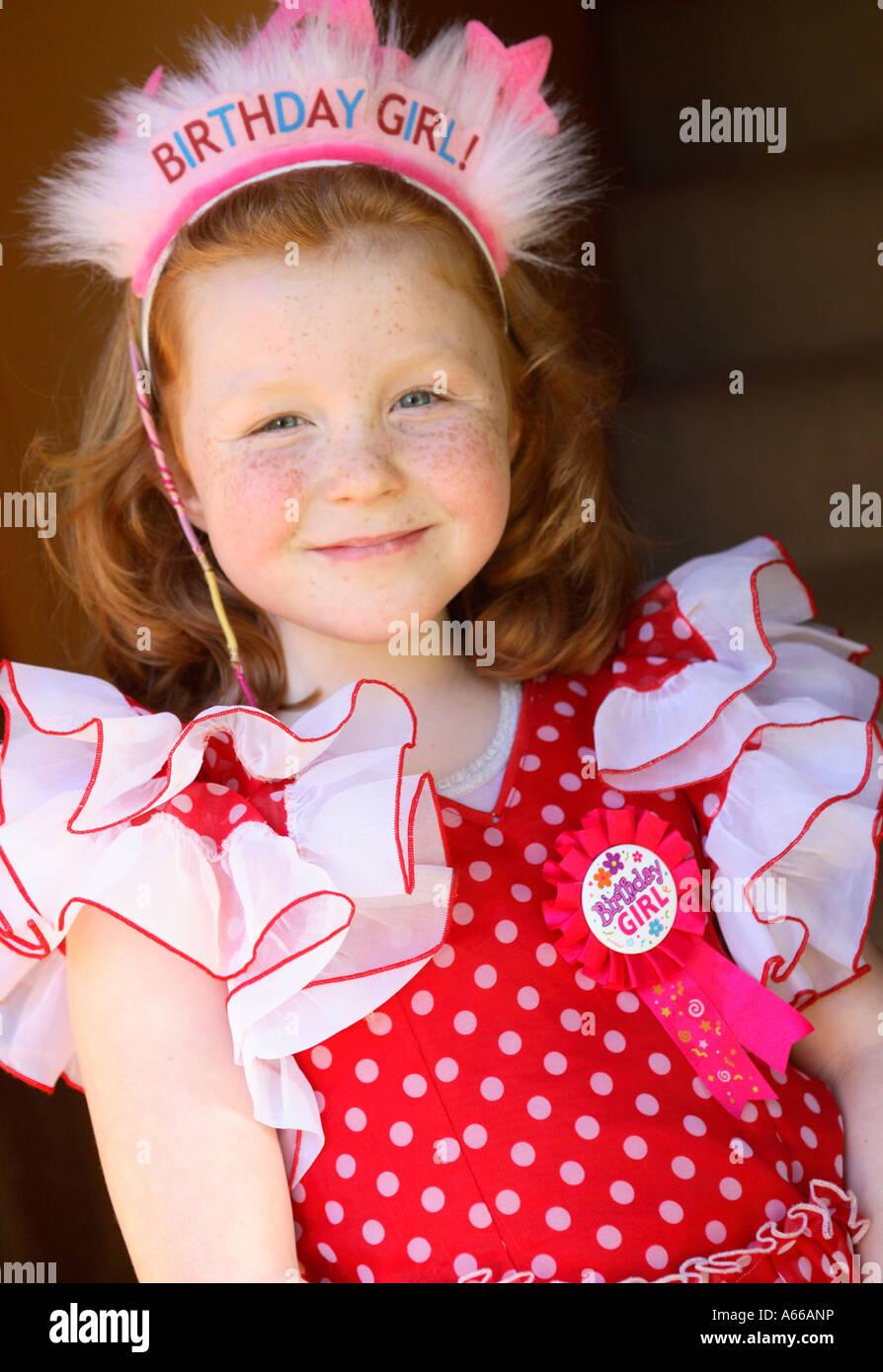 Birthday Badge Birthday Girl Stockfotos & Birthday Badge Birthday ...