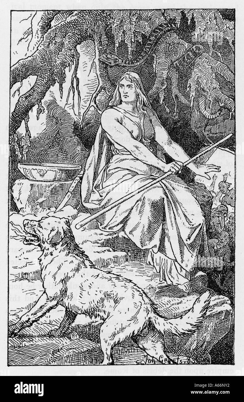 Göttin der Unterwelt Stockfoto, Bild: 6559345 - Alamy