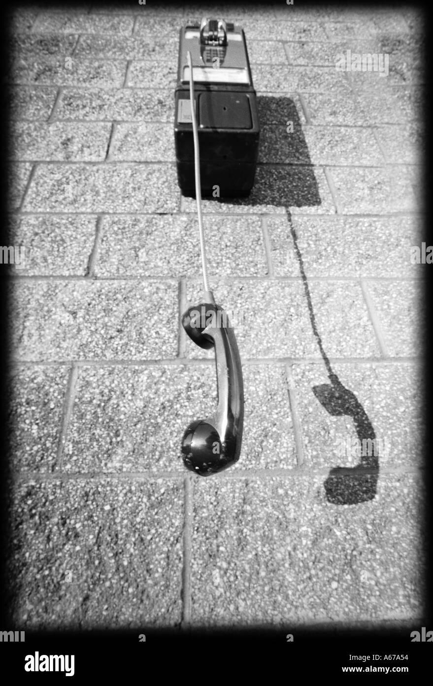 Kommunikationskonzept Telefonzelle aus dem Schneider Stockbild