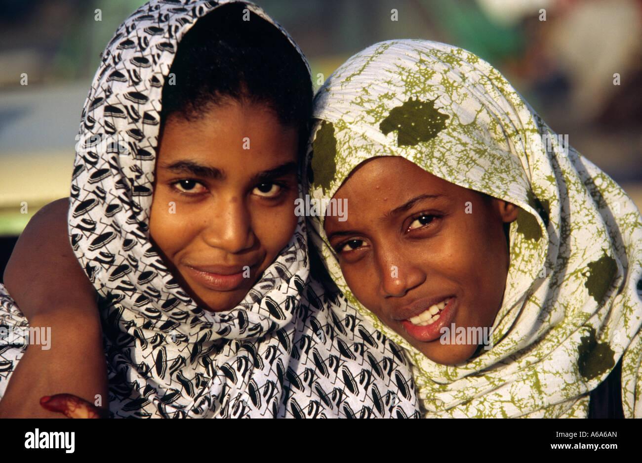 Mauretanischen Frauen - Nouakchott, Mauretanien