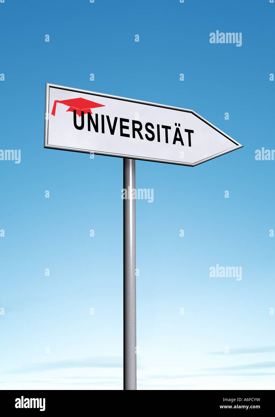 Universität Universität Stockbild