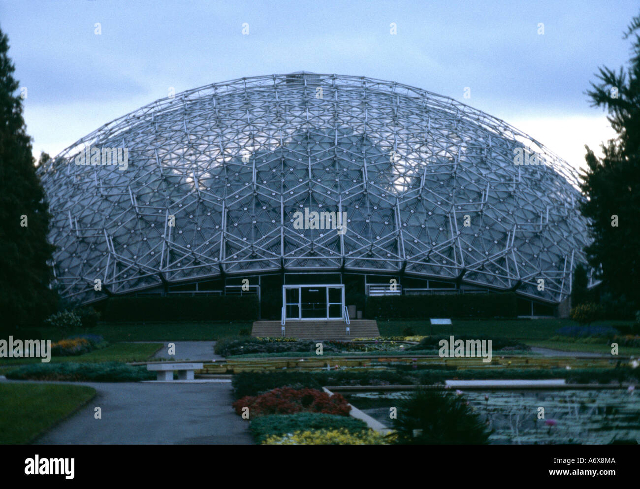 Geodätische Kuppel climatron geodätische kuppel st louis missouri 1960 architekt