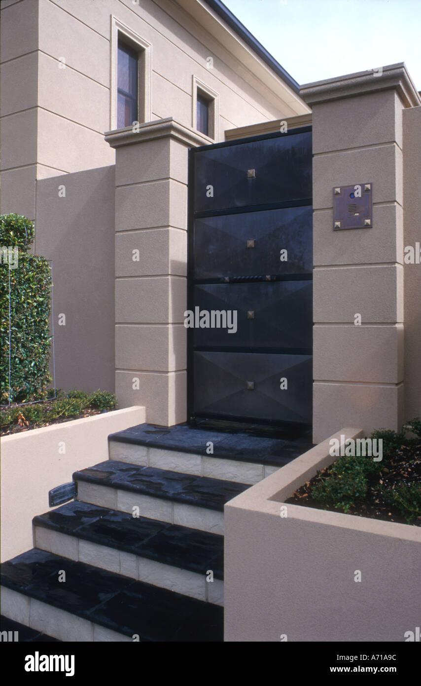 Perth Häuser zeitgenössische Stockfoto, Bild: 465564 - Alamy