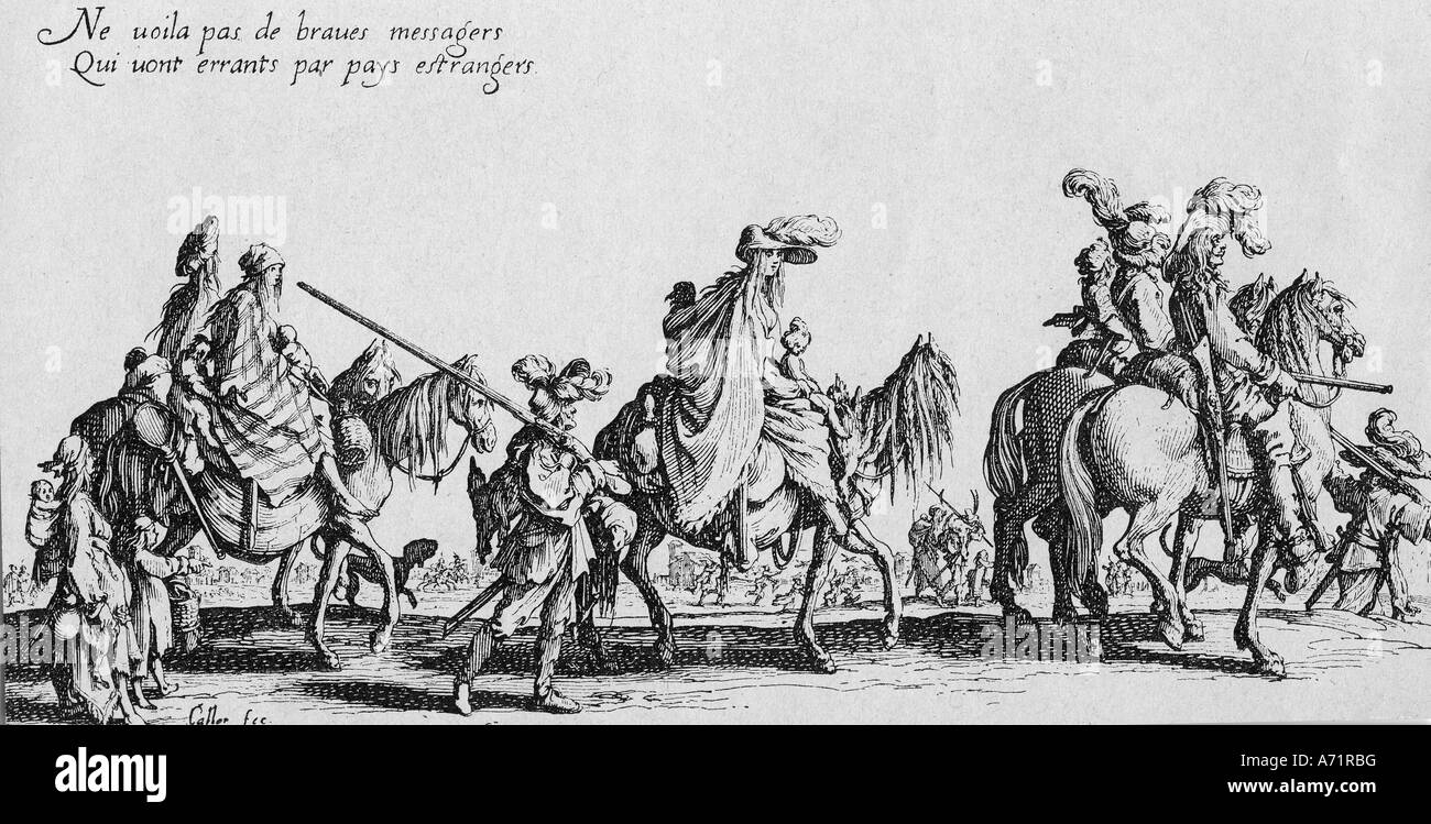 Veranstaltungen, dreißig Jahre Krieg 1618 - 1648, Additional-Rights-Spiel-NA Stockbild