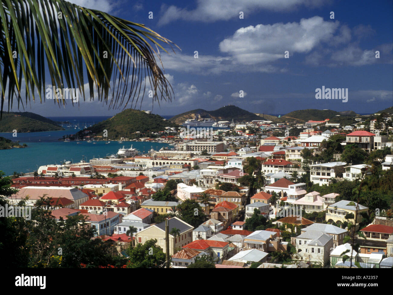 AJ2360, Karibik, US Virgin Islands, St. Thomas, V.I. Stockbild