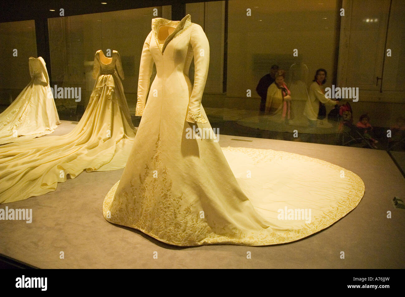 Prinzessin Letizia Hochzeitskleid Royal Palast ARANJUEZ Madrid