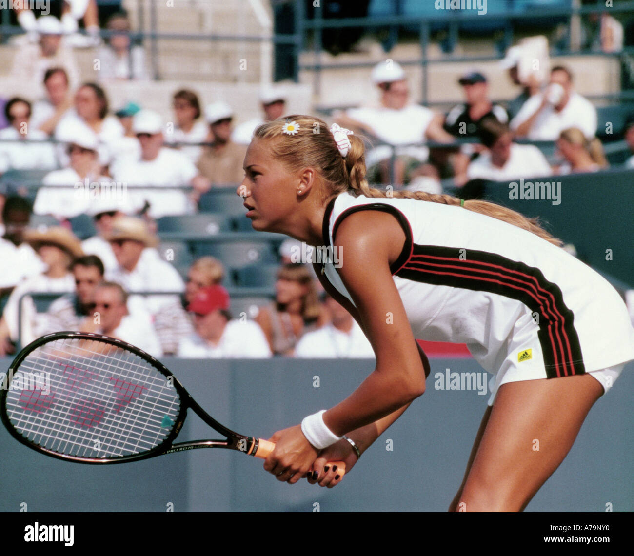 die russische tennisspielerin anna kournikova