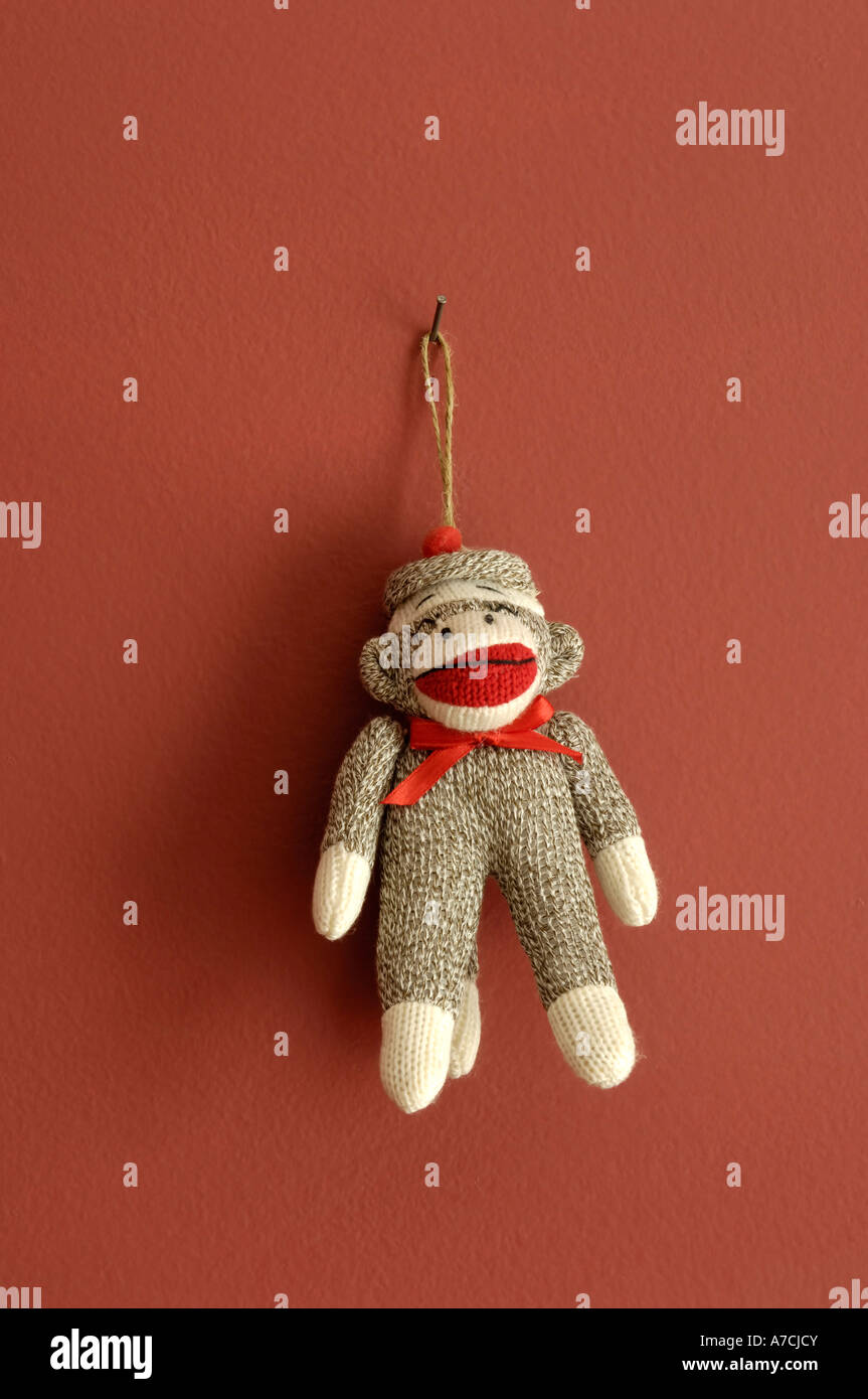 Toy Sock Monkey Stockfotos & Toy Sock Monkey Bilder - Alamy