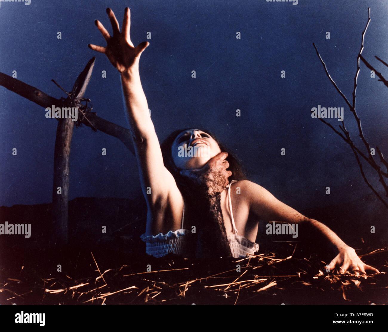 EVIL DEAD 1983 schloss film Stockbild