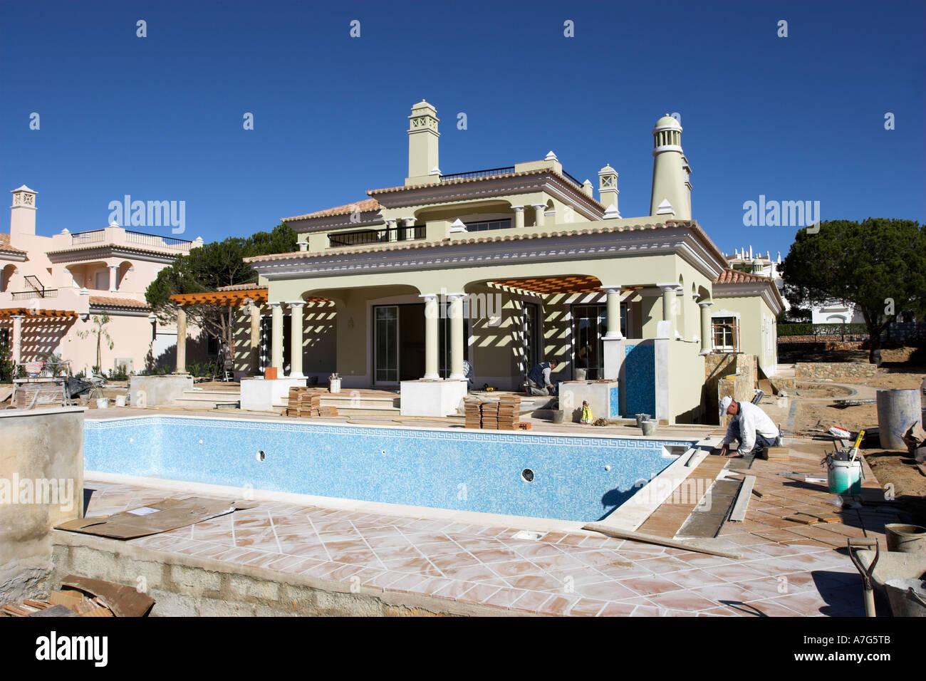 Luxus Entwicklung Einer Neuen Villa Mit Grossem Pool Und Terrasse An