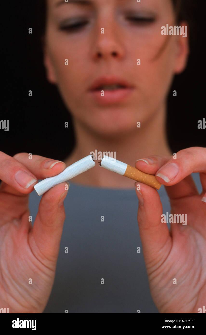 Nicht rauchen Stockbild