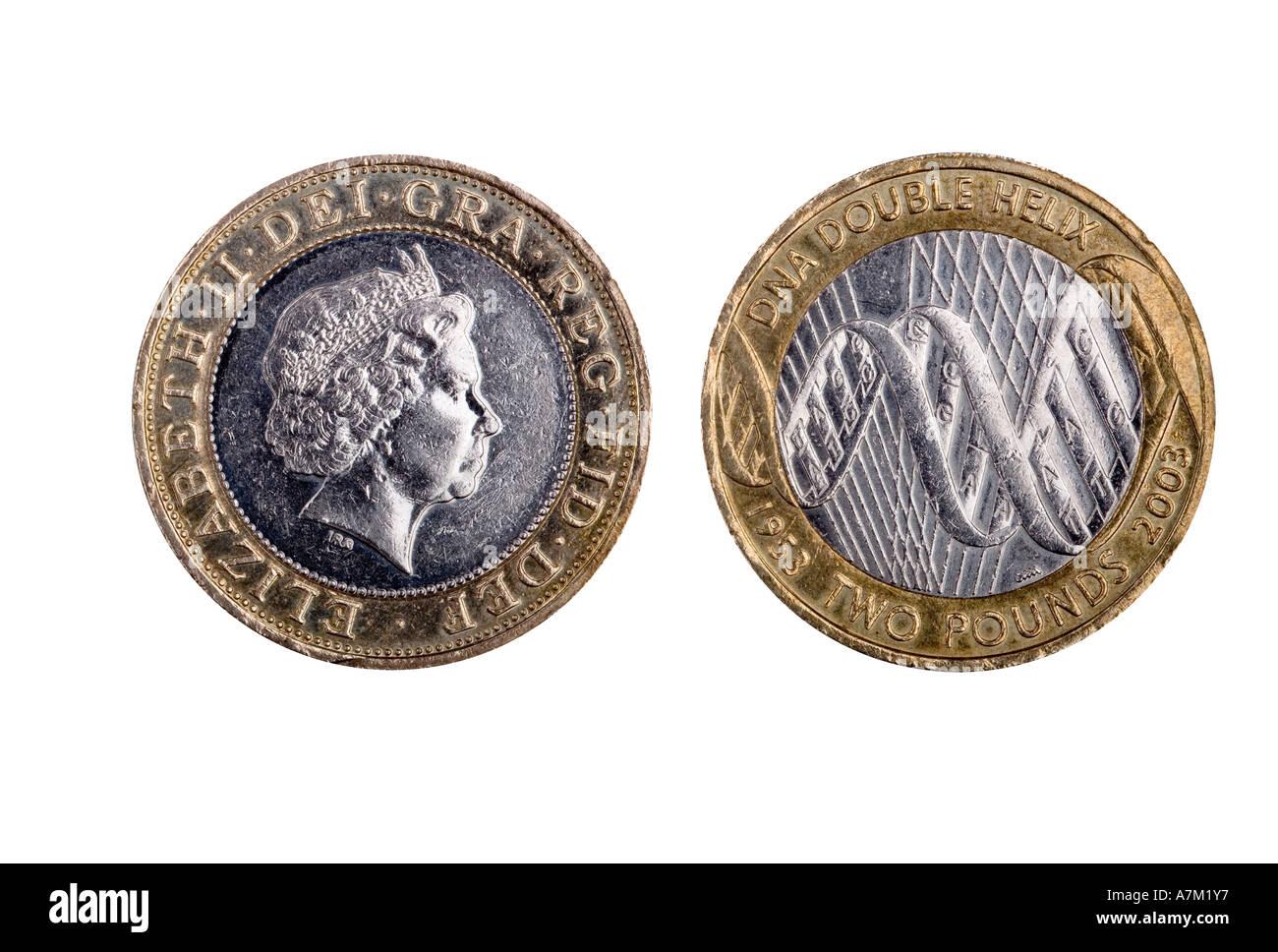 2003 Zwei 2 Pfund Münze 50 Jahrestag Der Entdeckung Der Dna