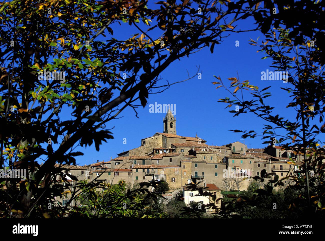 Italien, Toskana, Monticello Amiata in der Nähe von Monte Amiata Stockfoto