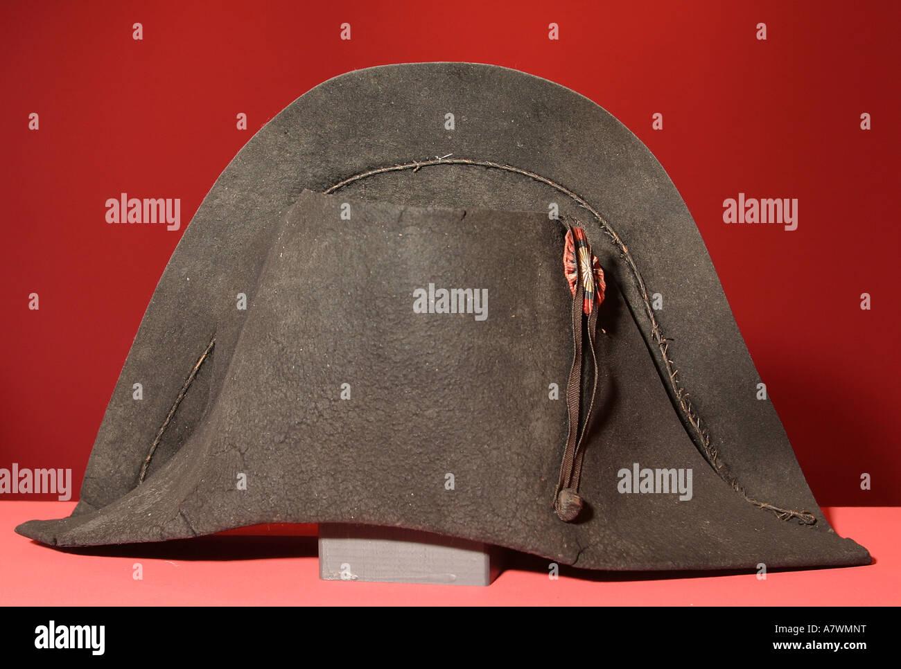 Der Hut Des Franzosischen Kaisers Napoleon Bonaparte Stockfoto Bild