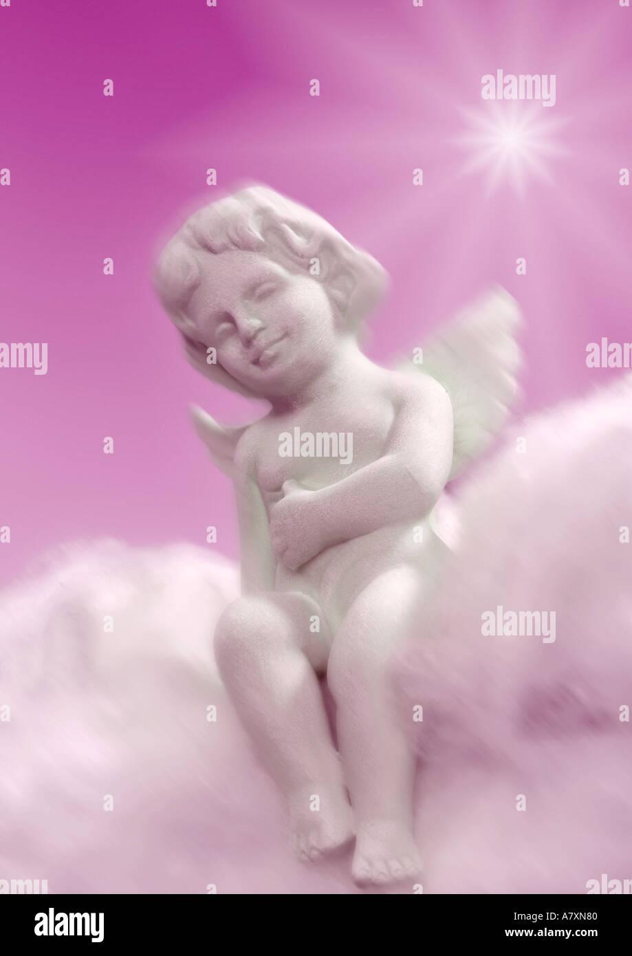 Engel Engel Putte Stockbild