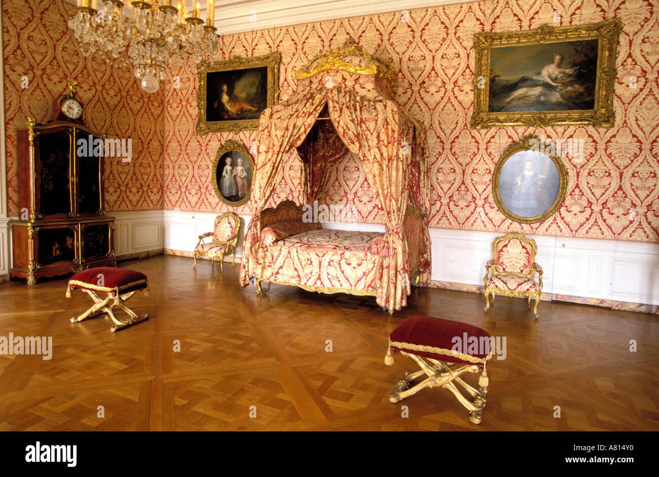 Chateau De Versailles Bedroom Stockfotos Und Bilder Kaufen Alamy