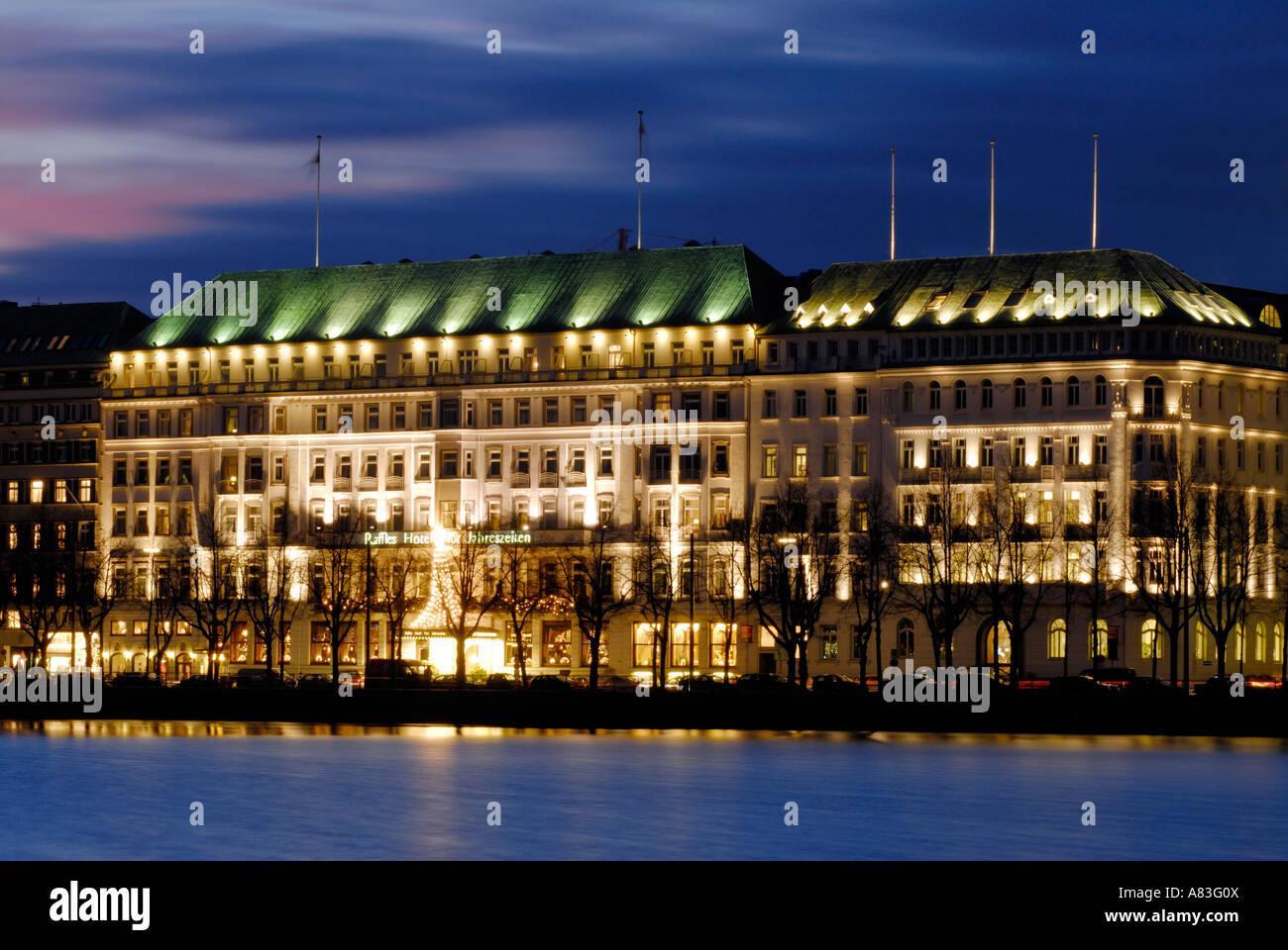 Das Hotel Fairmont Hotel Vier Jahreszeiten Hamburg Deutschland
