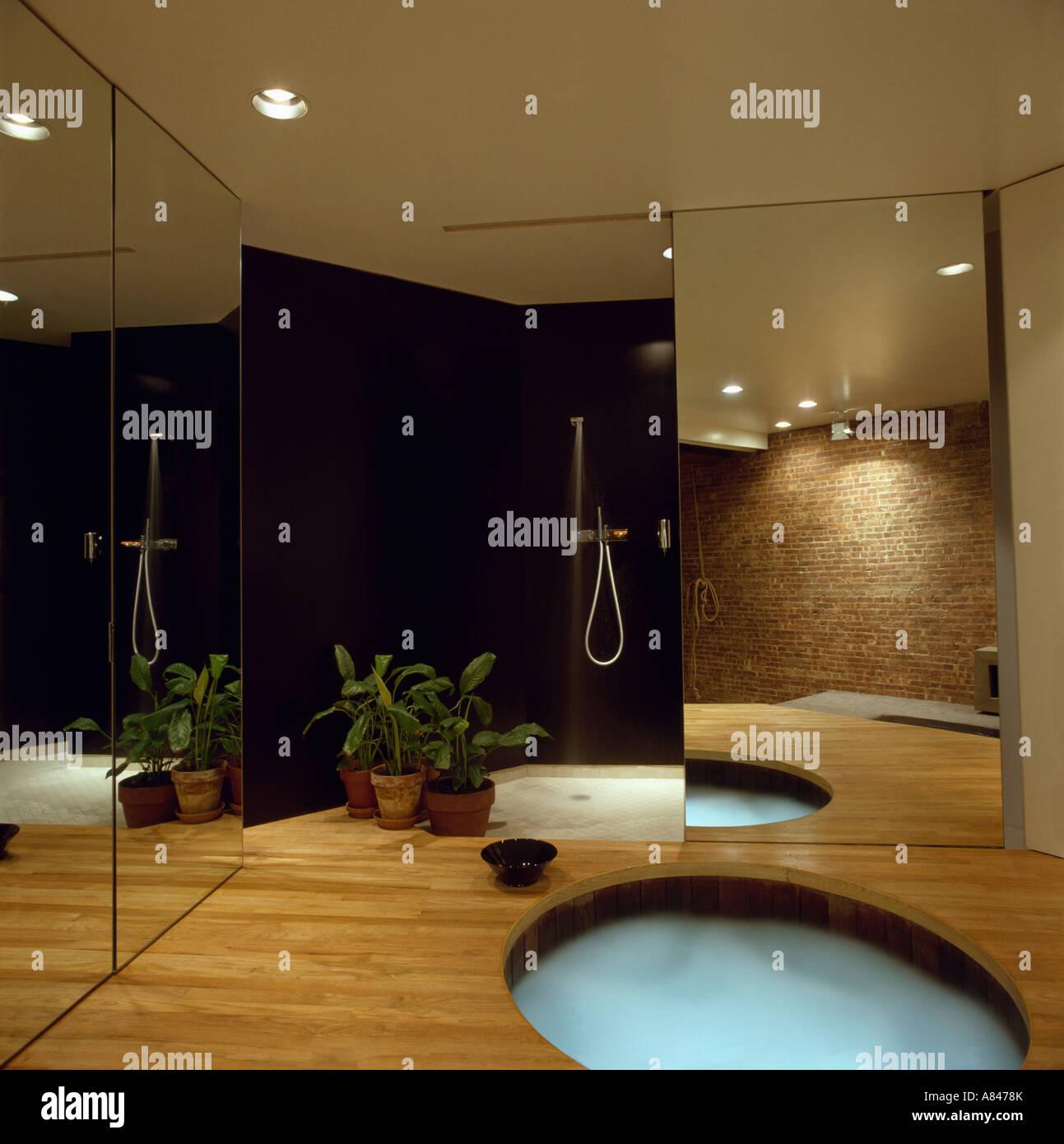 badezimmer mit holzboden fabulous ideen kleine bder. Black Bedroom Furniture Sets. Home Design Ideas