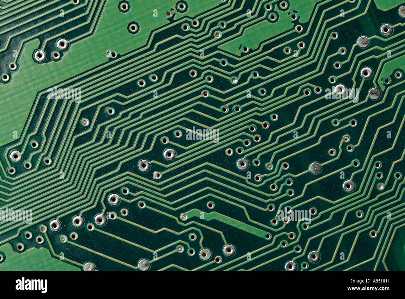 Elektronischen Leiterplatte Stockbild