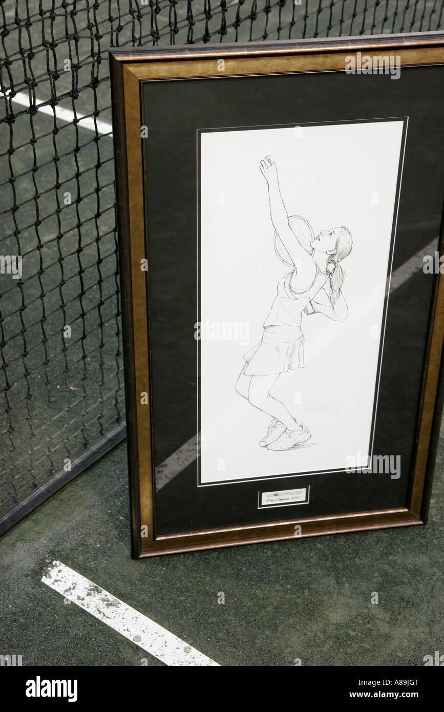 Tennis Sketch Stockfotos & Tennis Sketch Bilder - Alamy