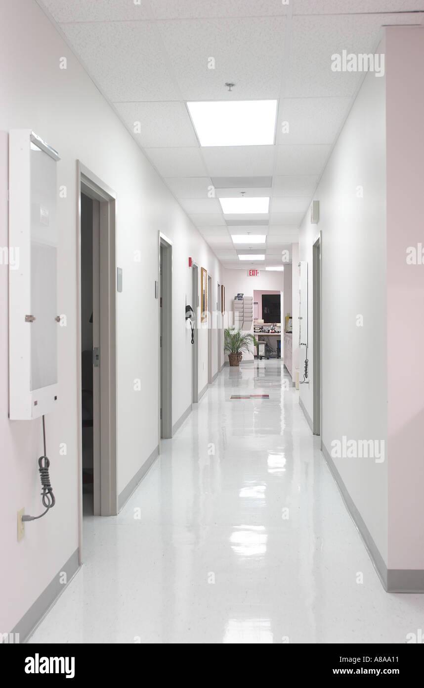 Arzte Buro Flur Stockfoto Bild 567825 Alamy