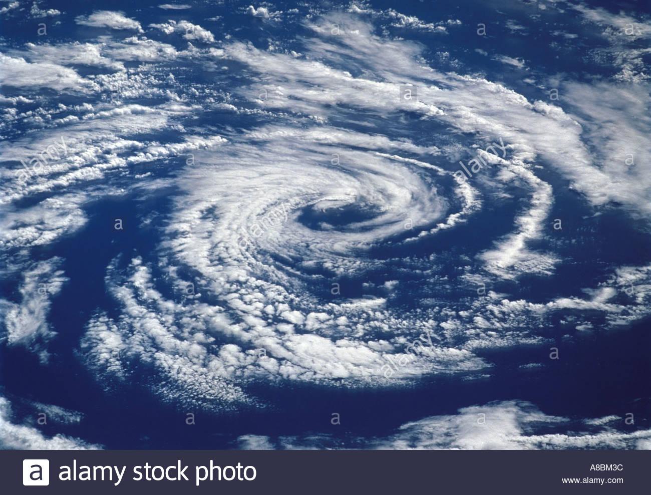 Hurrikan, Zyklon Stockbild