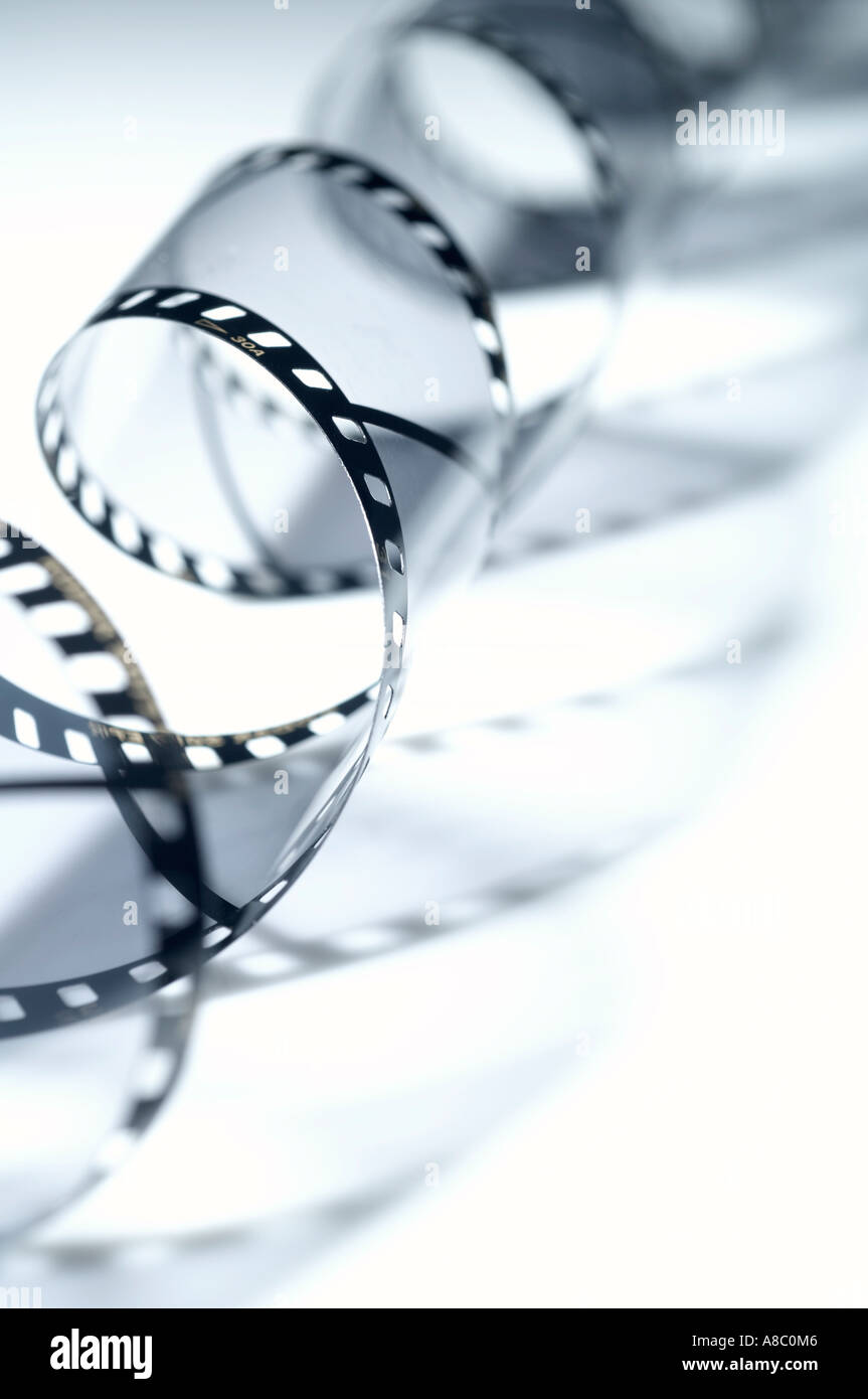 Bild eines Films Stockbild