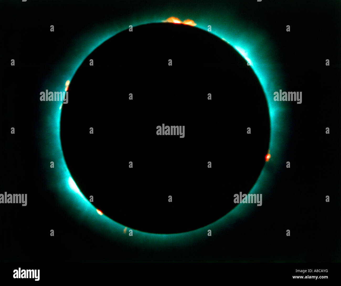Solar Eclipse Stockbild