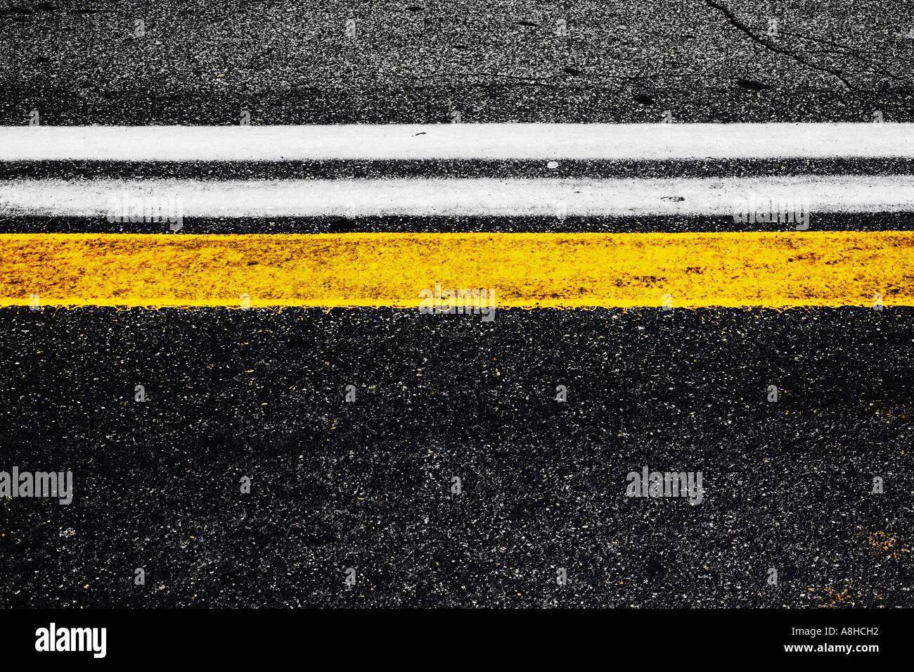 Straße Kennzeichnung Division Street Stockbild