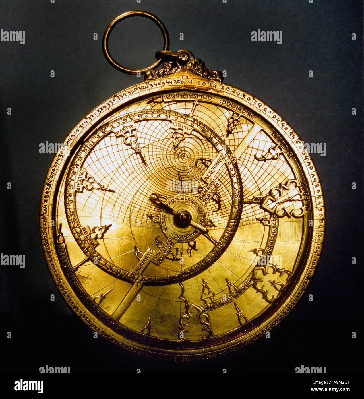 Astrolabium Stockbild