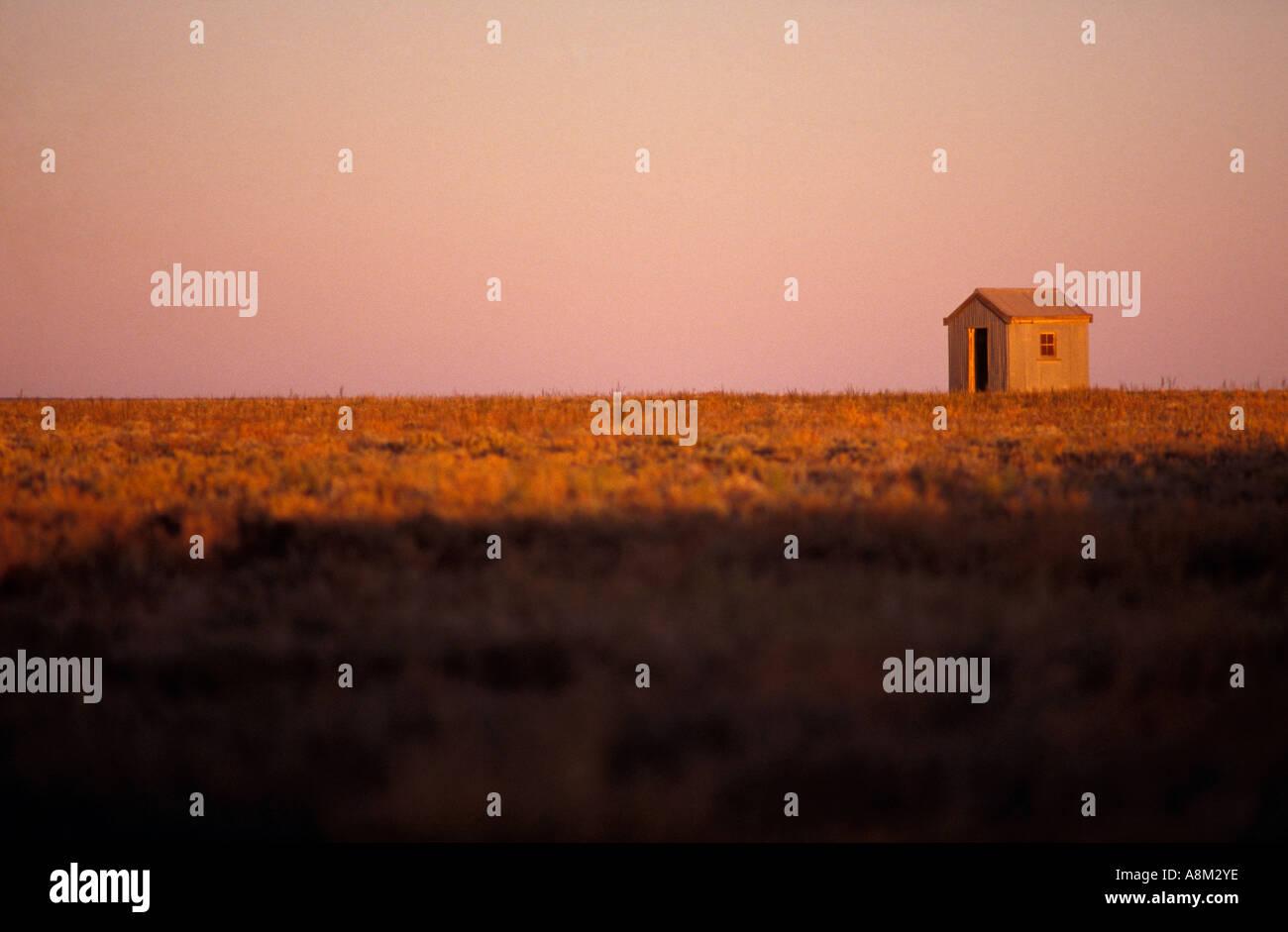 Verlassene Hütte Outback Australien Stockfoto