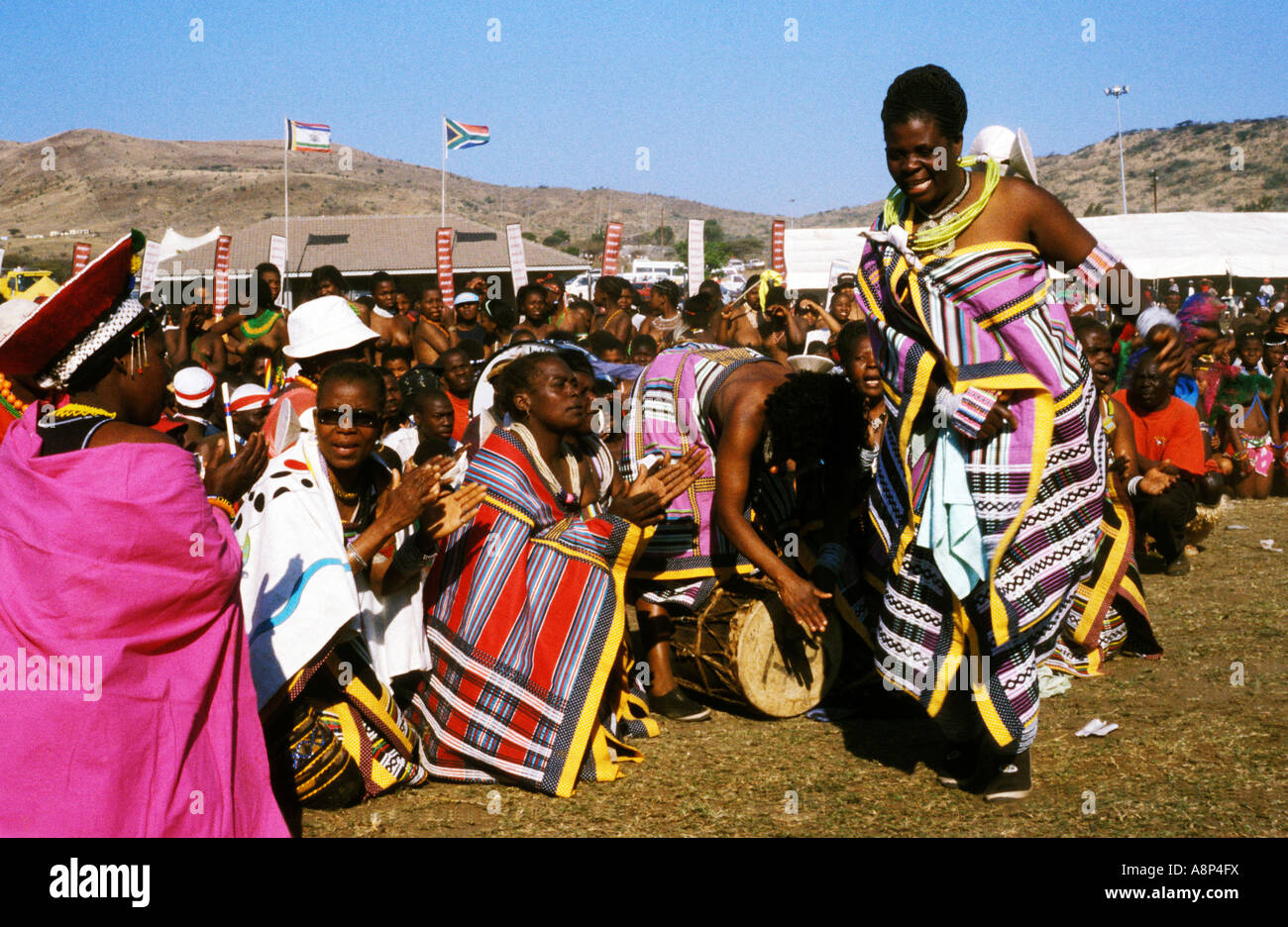 Estimated 30 000 maidens attend reed dance | Zululand Observer