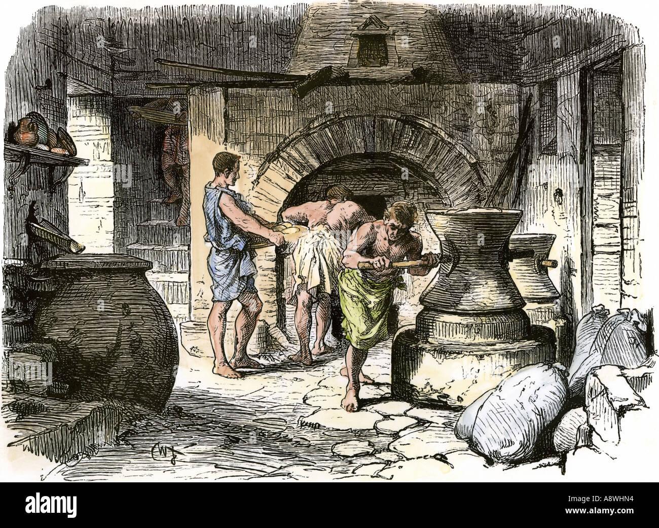 Fast Food Shop Pompeii
