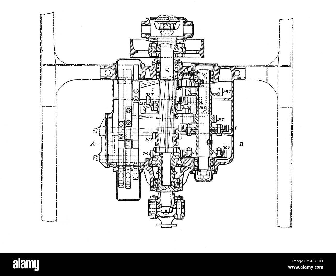 Gearbox Illustration Stockfotos & Gearbox Illustration Bilder - Alamy