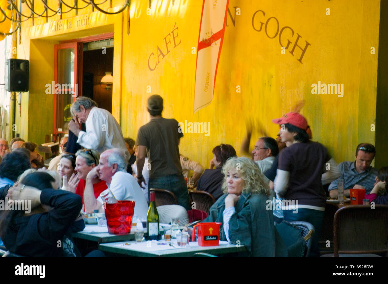 Arles Cafe Van Gogh Stockfotos Arles Cafe Van Gogh Bilder Seite