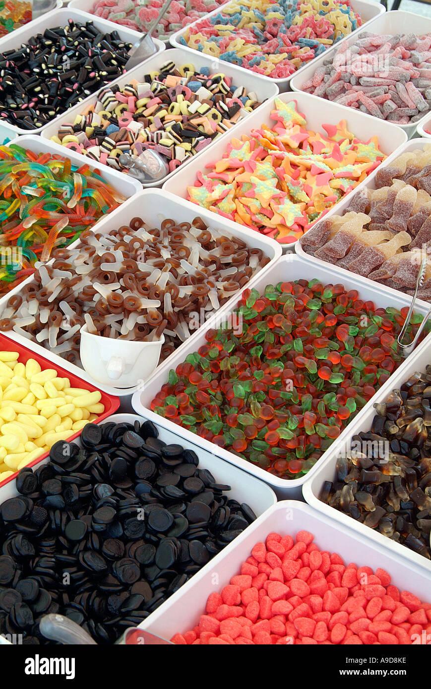 Süßigkeiten, süße, Süßigkeiten, Zucker, Lakritz, Allsorts, Zahn ...