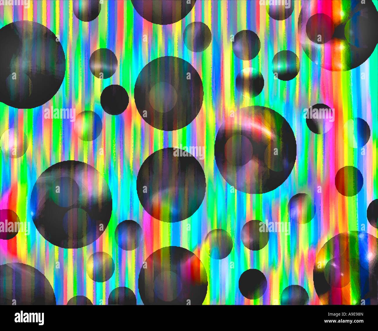 Abstrakte digitale Kunst Stockbild