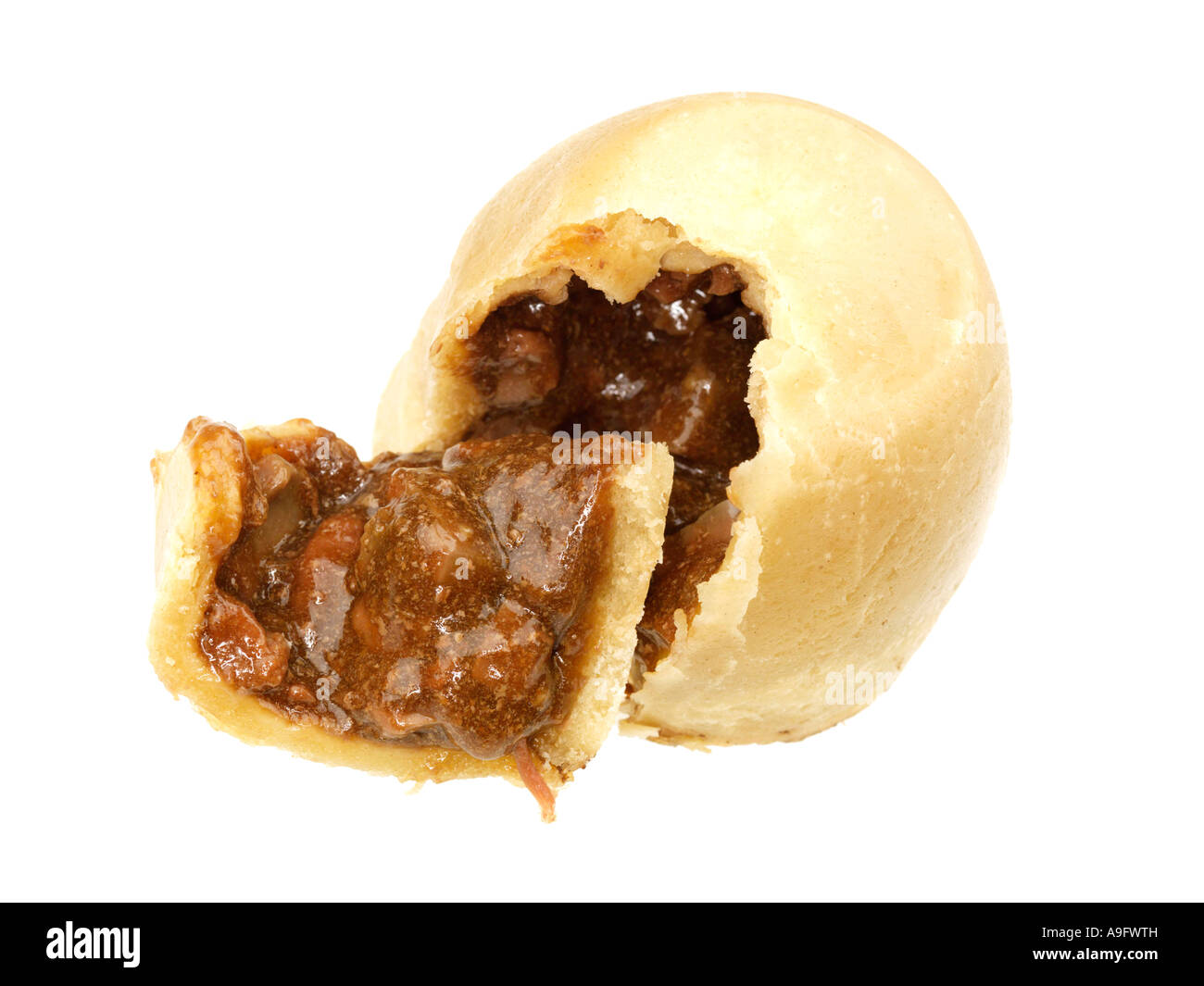 Steak Niere Suet Pudding Stockfotografie Alamy